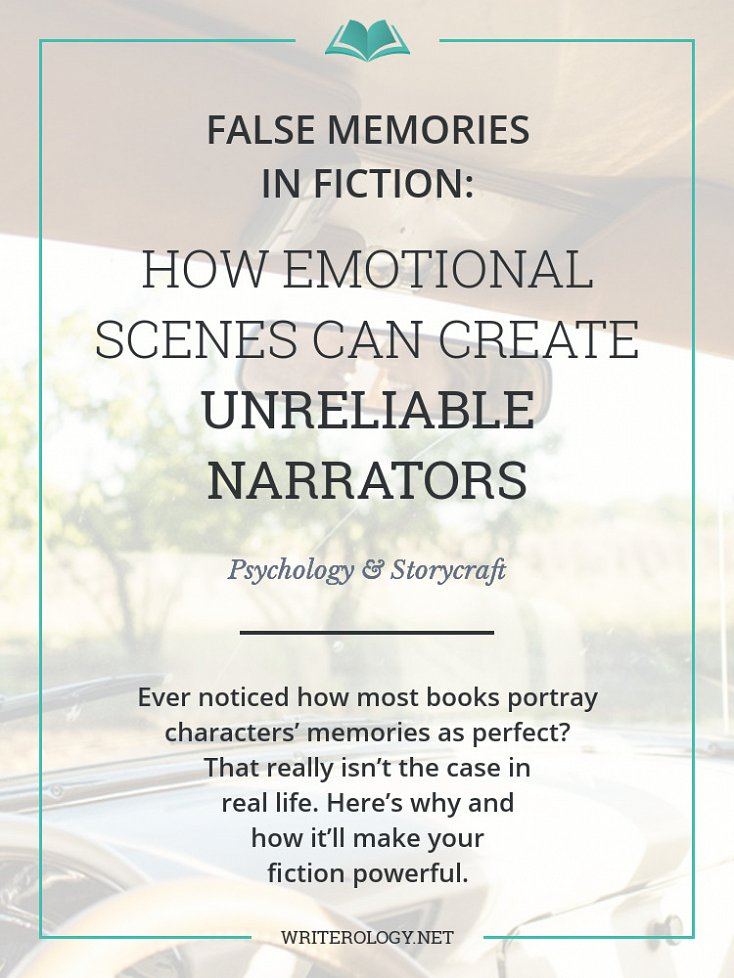Ever noticed how books portray memories as perfect? That isn't so in real life. Make your fiction more realistic and interesting with an unreliable narrator. | Writerology.net