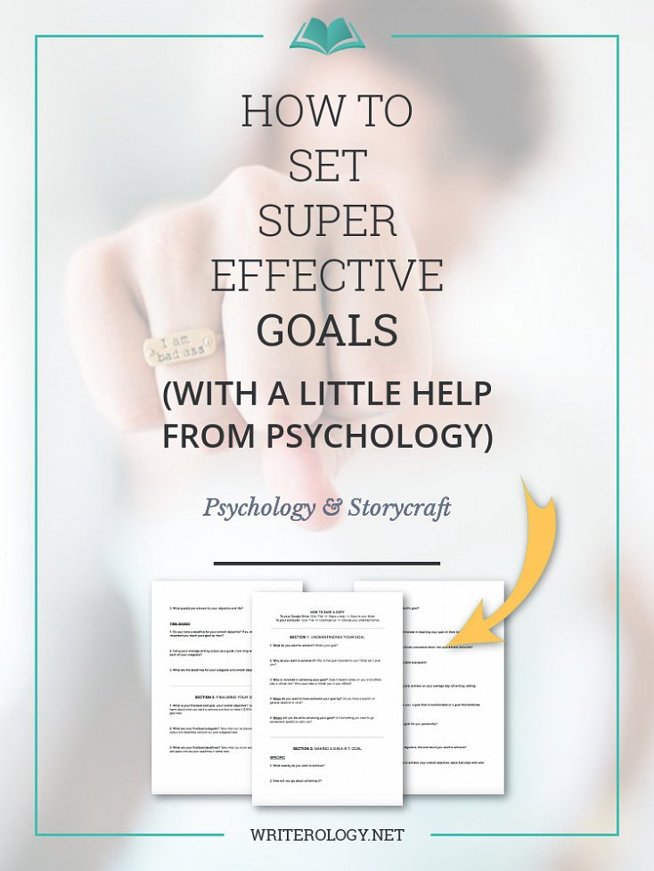 Want to make this your best writing year yet? Learn how to set and smash some powerful goals with a little help from psychology and a bit of smart planning. | Writerology.net