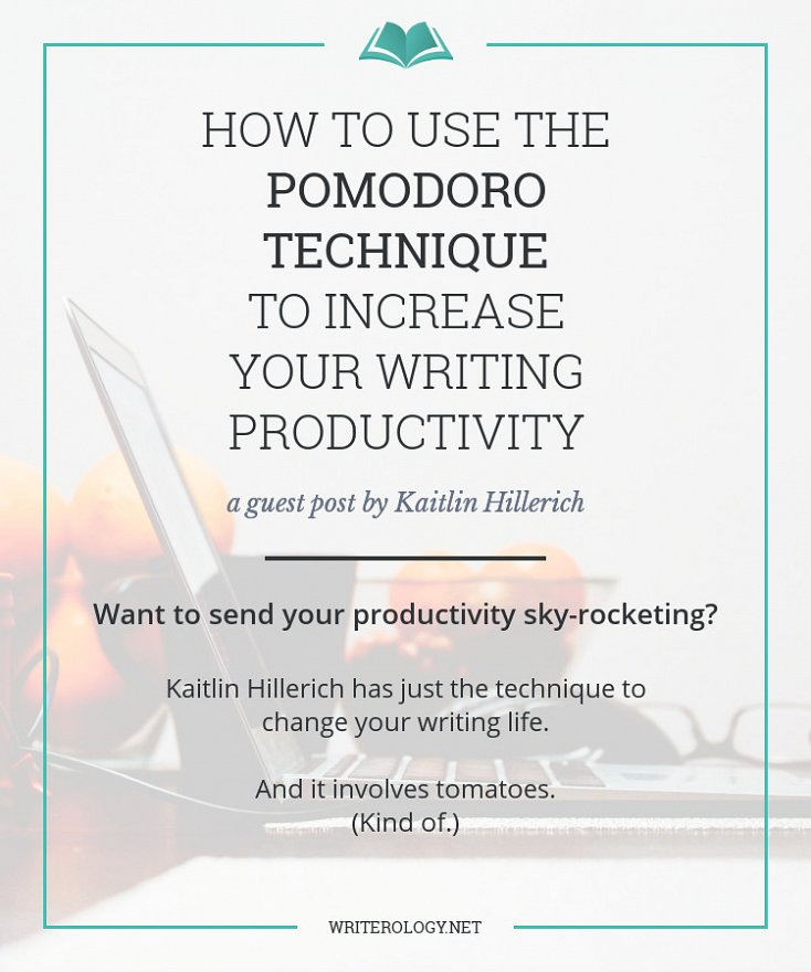 Want to send your productivity sky-rocketing? Kaitlin Hillerich has just the technique to change your writing life. And it involves tomatoes (kind of). | Writerology.net