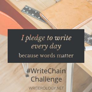 Writerology: Write Chain Challenge